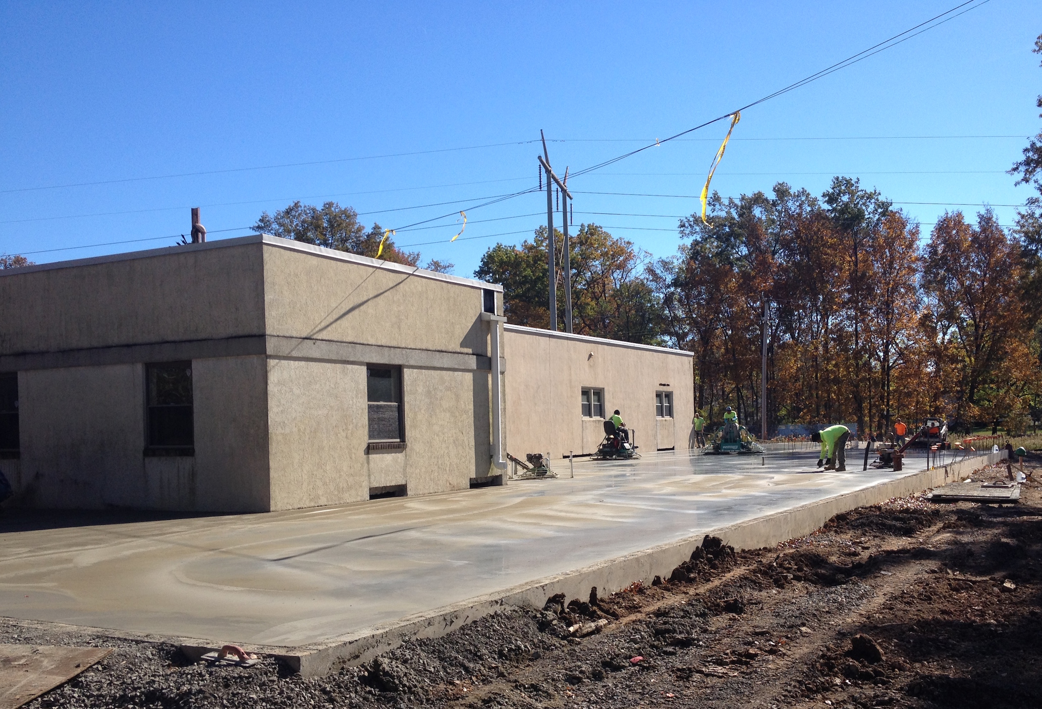 Pump Office Manufacturing Shop Addition by PA Commercial Contractor