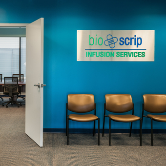 BioScrip Patient Waiting Room