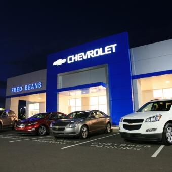 Fred Beans Chevrolet >> Body Shop & Car Dealership Construction in Bucks-Montgomery PA