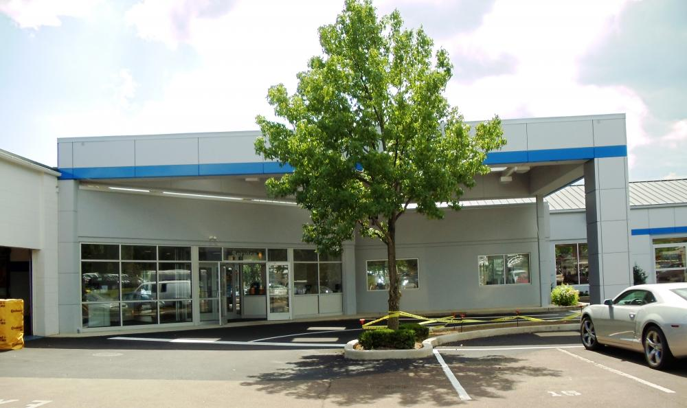 car dealership construction fred beans doylestown chevrolet bucks pa souder brothers construction