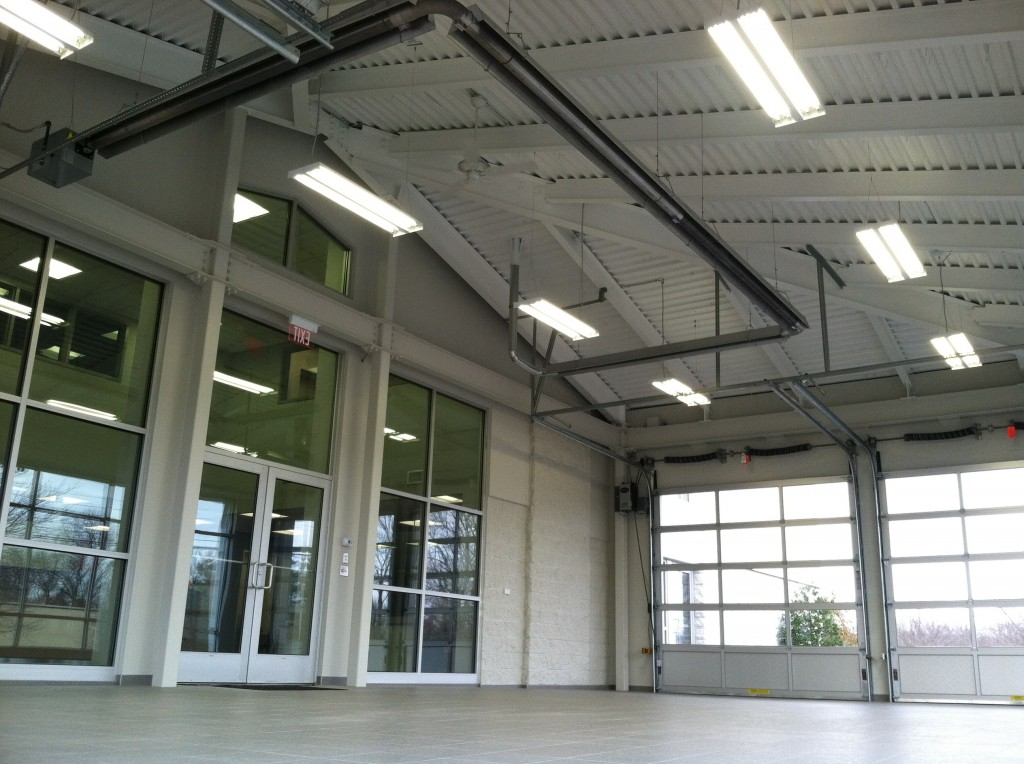 New Drive Through - Fred Beans Collision Center Doylestown - Inside View