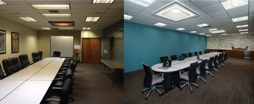 conference room commercial renovation