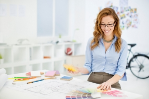Female Interior Designer - 9 common painting mistakes